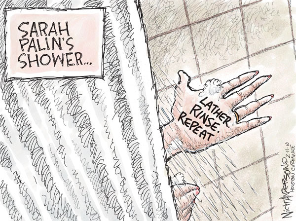 Nick Anderson  Nick Anderson's Editorial Cartoons 2010-02-11 shampoo