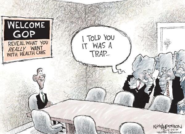 Cartoonist Nick Anderson  Nick Anderson's Editorial Cartoons 2010-02-24 health