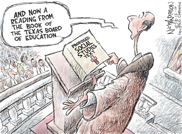 Cartoonist Nick Anderson  Nick Anderson's Editorial Cartoons 2010-03-12 book