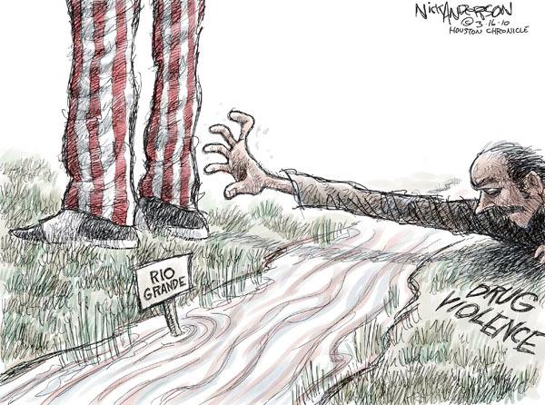 Cartoonist Nick Anderson  Nick Anderson's Editorial Cartoons 2010-03-16 uncle