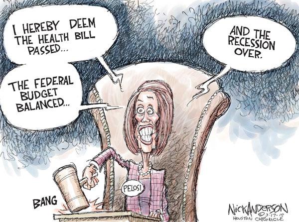 Cartoonist Nick Anderson  Nick Anderson's Editorial Cartoons 2010-03-17 medical economy