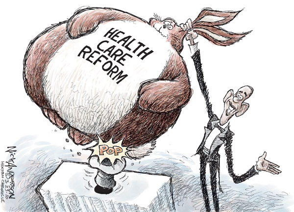 Nick Anderson  Nick Anderson's Editorial Cartoons 2010-03-23 health care reform