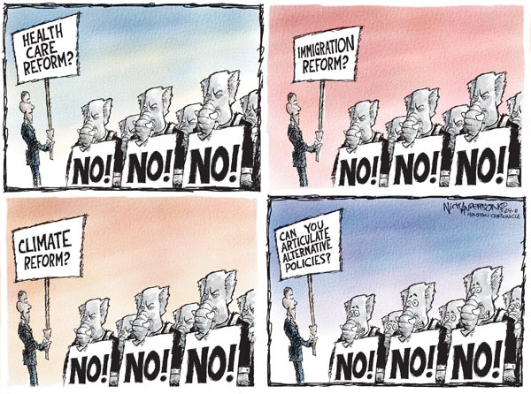 Cartoonist Nick Anderson  Nick Anderson's Editorial Cartoons 2010-03-24 health care policy