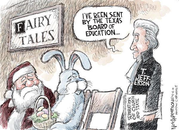 Cartoonist Nick Anderson  Nick Anderson's Editorial Cartoons 2010-04-04 board