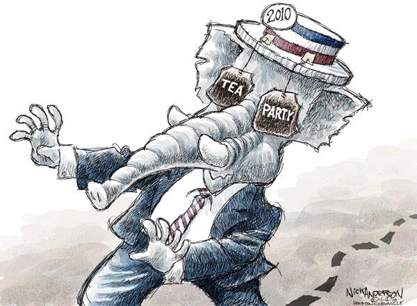 Cartoonist Nick Anderson  Nick Anderson's Editorial Cartoons 2010-04-16 political party