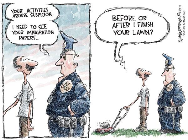 Nick Anderson  Nick Anderson's Editorial Cartoons 2010-04-28 policeman
