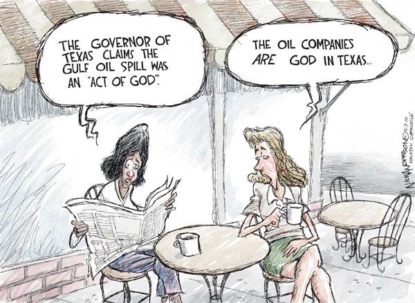 Cartoonist Nick Anderson  Nick Anderson's Editorial Cartoons 2010-05-07 Texas governor