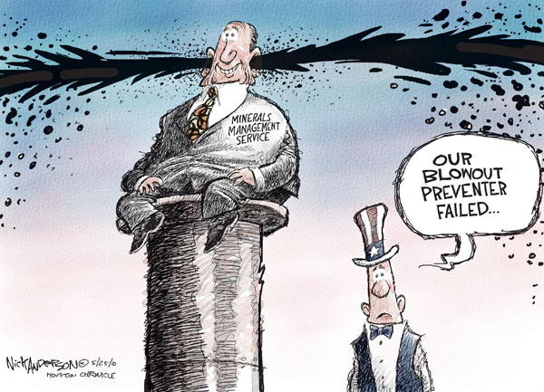 Nick Anderson  Nick Anderson's Editorial Cartoons 2010-05-24 management
