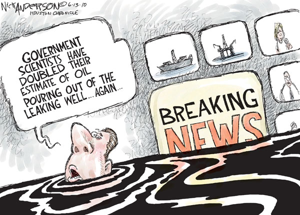 Nick Anderson  Nick Anderson's Editorial Cartoons 2010-06-13 well