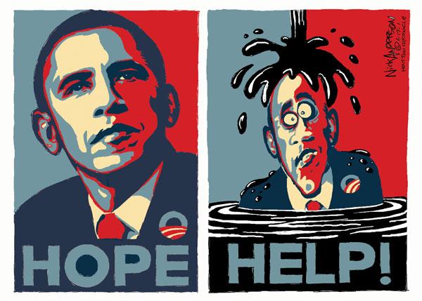 Cartoonist Nick Anderson  Nick Anderson's Editorial Cartoons 2010-06-17 2008 election