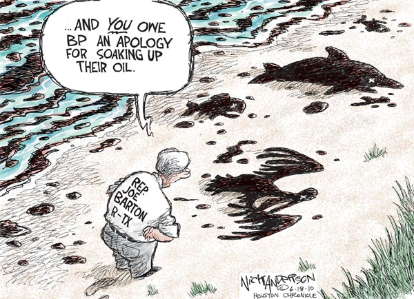 Nick Anderson  Nick Anderson's Editorial Cartoons 2010-06-18 environment