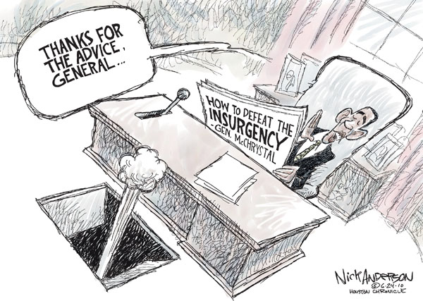 Nick Anderson  Nick Anderson's Editorial Cartoons 2010-06-24 military strategy