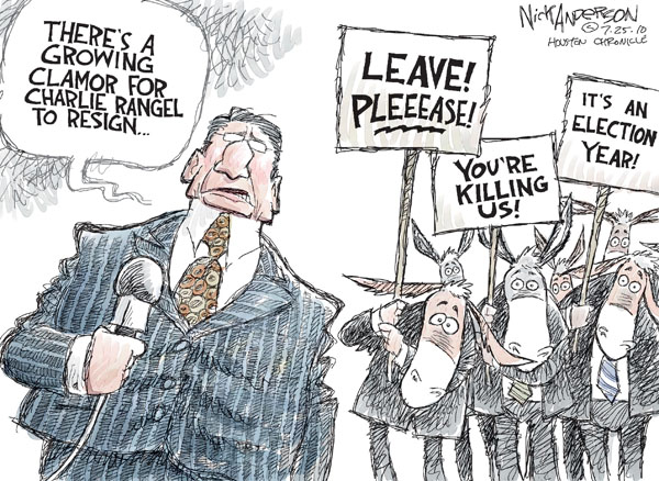 Nick Anderson  Nick Anderson's Editorial Cartoons 2010-07-25 political ethics