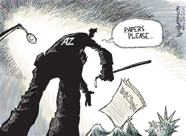 Cartoonist Nick Anderson  Nick Anderson's Editorial Cartoons 2010-07-29 Constitution