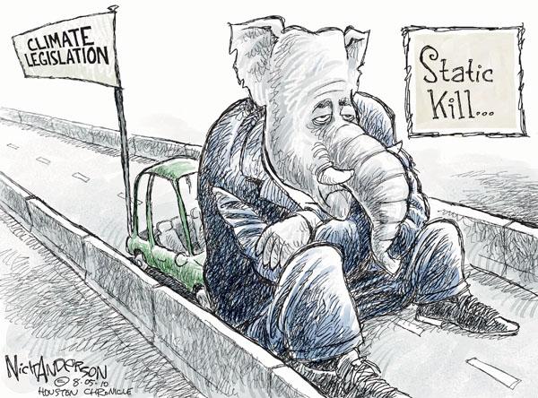 Nick Anderson  Nick Anderson's Editorial Cartoons 2010-08-05 environment