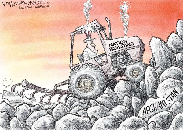 Cartoonist Nick Anderson  Nick Anderson's Editorial Cartoons 2010-08-15 Afghanistan