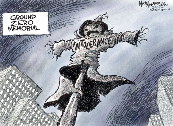 Nick Anderson  Nick Anderson's Editorial Cartoons 2010-08-18 first amendment