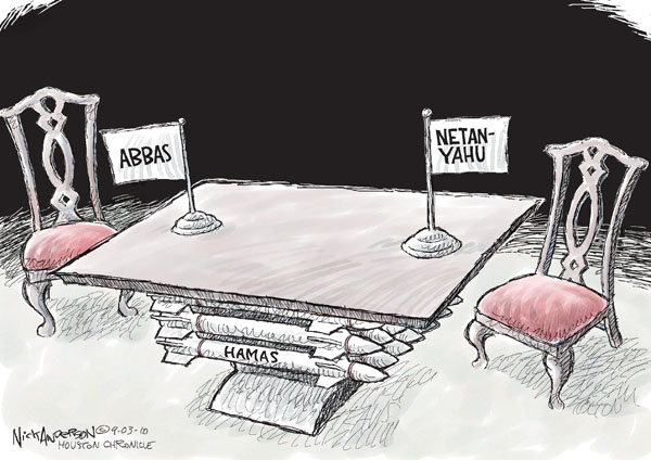 Nick Anderson  Nick Anderson's Editorial Cartoons 2010-09-03 Israel