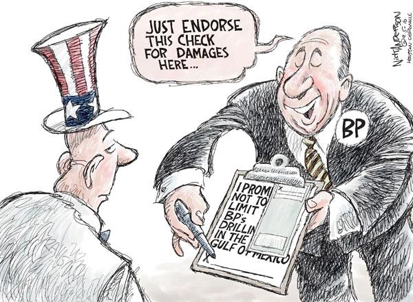 Nick Anderson  Nick Anderson's Editorial Cartoons 2010-09-05 damage