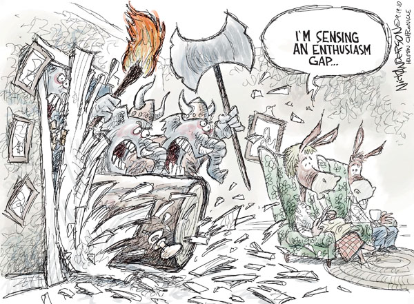 Nick Anderson  Nick Anderson's Editorial Cartoons 2010-09-19 republicans 2010 election