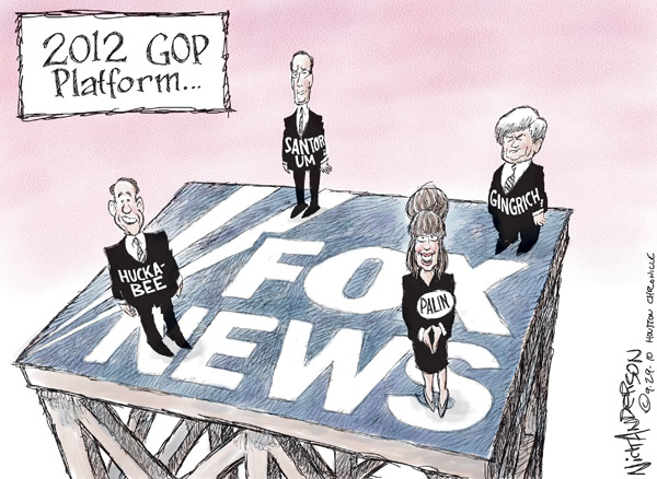 Nick Anderson  Nick Anderson's Editorial Cartoons 2010-09-29 Mike Huckabee
