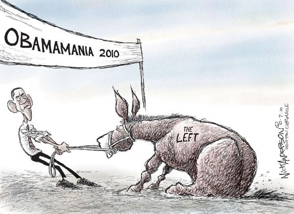 Obamamania 2010. The left.