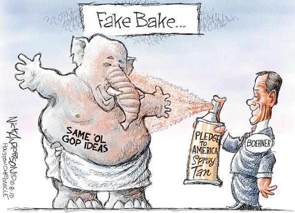 Nick Anderson  Nick Anderson's Editorial Cartoons 2010-10-08 2010 election