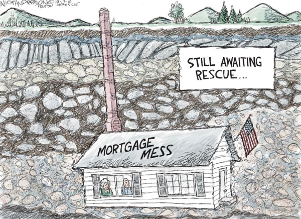 Nick Anderson  Nick Anderson's Editorial Cartoons 2010-10-17 economy