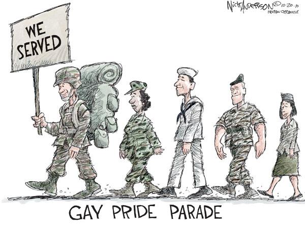 Cartoonist Nick Anderson  Nick Anderson's Editorial Cartoons 2010-10-20 military