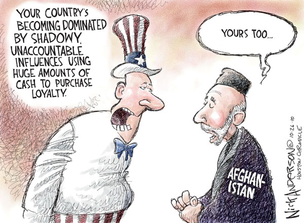 Nick Anderson  Nick Anderson's Editorial Cartoons 2010-10-27 influence