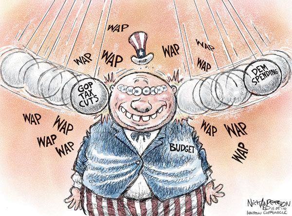 Nick Anderson  Nick Anderson's Editorial Cartoons 2010-11-05 tax cut