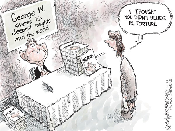 Cartoonist Nick Anderson  Nick Anderson's Editorial Cartoons 2010-11-11 human rights