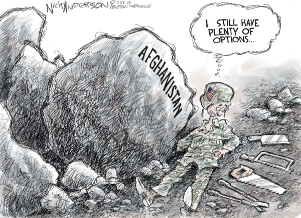 Cartoonist Nick Anderson  Nick Anderson's Editorial Cartoons 2010-11-21 armed