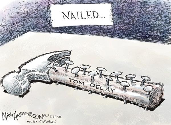 Cartoonist Nick Anderson  Nick Anderson's Editorial Cartoons 2010-11-28 delay