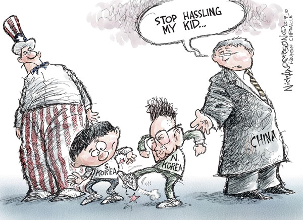 Nick Anderson  Nick Anderson's Editorial Cartoons 2010-12-09 chinese