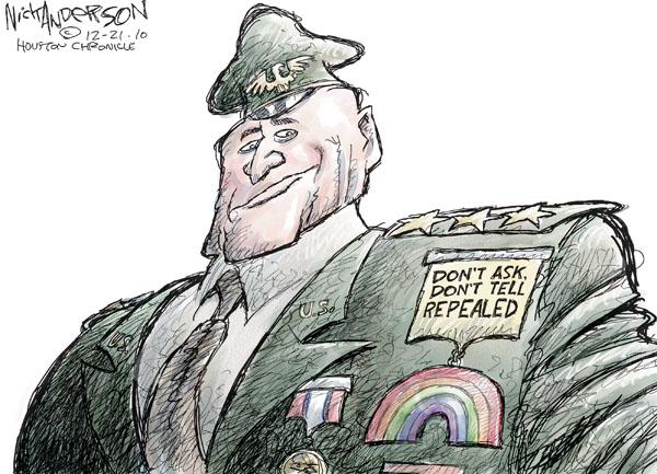 Cartoonist Nick Anderson  Nick Anderson's Editorial Cartoons 2010-12-21 don't