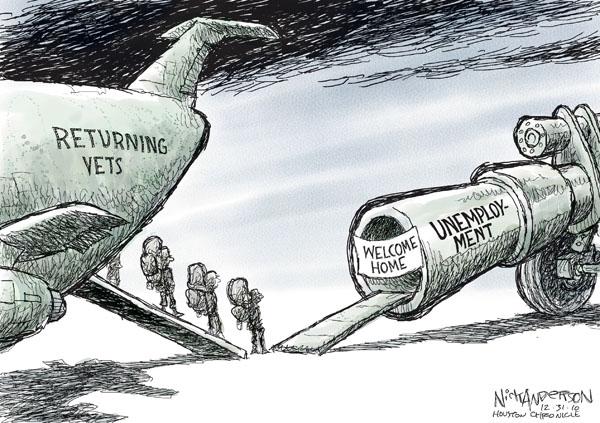 Cartoonist Nick Anderson  Nick Anderson's Editorial Cartoons 2010-12-31 military