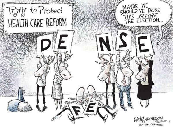 Cartoonist Nick Anderson  Nick Anderson's Editorial Cartoons 2011-01-07 political party