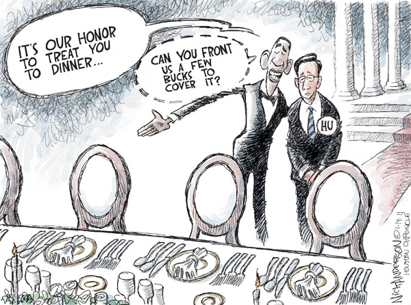 Nick Anderson  Nick Anderson's Editorial Cartoons 2011-01-19 chinese