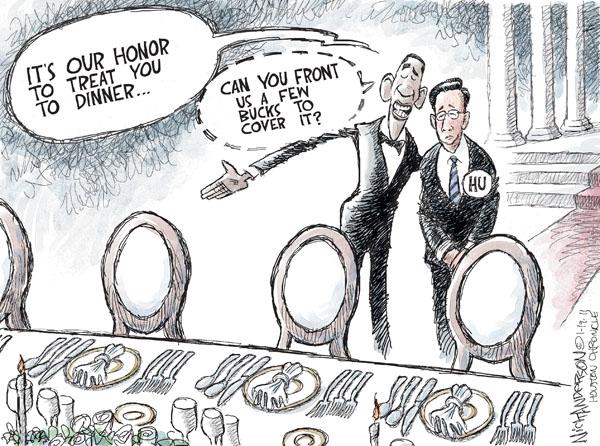 Cartoonist Nick Anderson  Nick Anderson's Editorial Cartoons 2011-01-19 policy