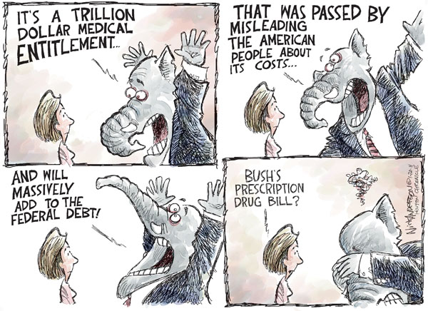 Cartoonist Nick Anderson  Nick Anderson's Editorial Cartoons 2011-01-20 health care cost