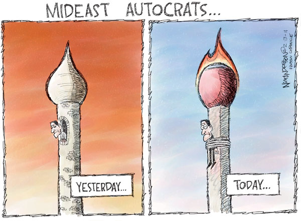 Cartoonist Nick Anderson  Nick Anderson's Editorial Cartoons 2011-02-13 middle