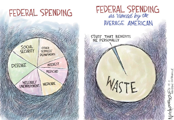 Nick Anderson  Nick Anderson's Editorial Cartoons 2011-02-15 federal budget