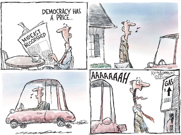 Nick Anderson  Nick Anderson's Editorial Cartoons 2011-02-27 democracy