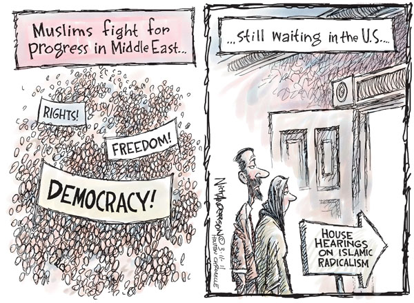 Cartoonist Nick Anderson  Nick Anderson's Editorial Cartoons 2011-03-11 human rights