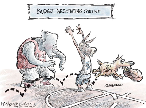 Nick Anderson  Nick Anderson's Editorial Cartoons 2011-04-05 federal budget