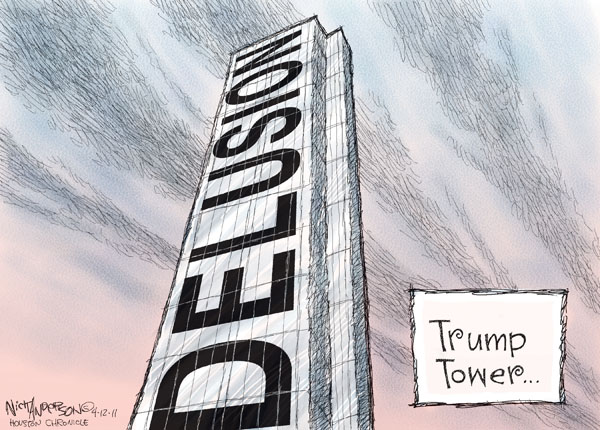 Cartoonist Nick Anderson  Nick Anderson's Editorial Cartoons 2011-04-12 Donald