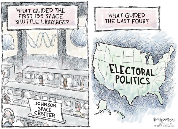 Cartoonist Nick Anderson  Nick Anderson's Editorial Cartoons 2011-04-13 control