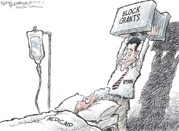 Nick Anderson  Nick Anderson's Editorial Cartoons 2011-04-15 Paul