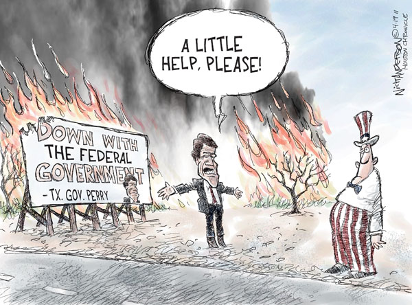 Cartoonist Nick Anderson  Nick Anderson's Editorial Cartoons 2011-04-16 relief